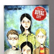 Cómics: ROYAL CITY 2 SONIC YOUTH - ASTIBERRI / TAPA DURA / JEFF LEMIRE. Lote 204262477
