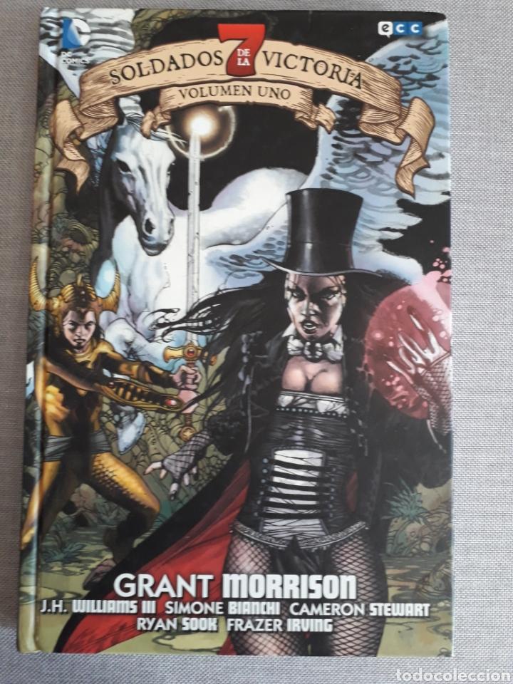 7 SOLDADOS DE LA VICTORIA. TOMO 1 TAPA DURA. MORRISON (Tebeos y Comics - Comics otras Editoriales Actuales)