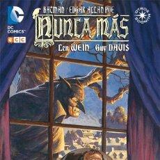 Cómics: BATMAN / EDGAR ALLAN POE : NUNCA MAS - ECC / DC / RUSTICA / OTROS MUNDOS. Lote 204400307