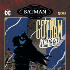 Cómics: BATMAN : GOTHAM A LUZ DE GAS - ECC / DC / TAPA DURA / OTROS MUNDOS / MIKE MIGNOLA. Lote 204404588