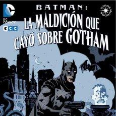 Cómics: BATMAN : LA MALDICION QUE CAYO SOBRE GOTHAM - ECC / DC / RUSTICA / OTROS MUNDOS / MIGNOLA. Lote 204406190