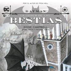 Cómics: BATMAN : LA ORDEN DE LAS BESTIAS - ECC / DC / RUSTICA / OTROS MUNDOS. Lote 204406452