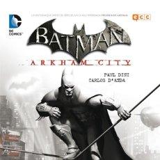 Cómics: BATMAN : ARKHAM CITY - ECC / DC / RUSTICA. Lote 204408712