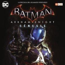 Cómics: BATMAN : ARKHAM KNIGHT GENESIS - ECC / DC / RUSTICA. Lote 204408981