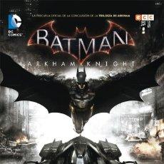 Cómics: BATMAN : ARKHAM KNIGHT 1 - ECC / DC / RUSTICA. Lote 204409315