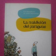 Cómics: LA MALDICIÓN DEL PARAGUAS. LAS PEQUEÑECES DE LEWIS HISTORIA COMPLETA.. Lote 204420393
