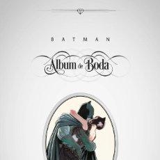 Cómics: BATMAN : ALBUM DE BODA - ECC / DC / TAPA DURA / NUEVO DE EDITORIAL. Lote 204432343
