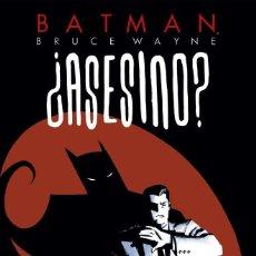 Cómics: BATMAN : BRUCE WAYNE ¿ASESINO? 1 - ECC / DC / TAPA DURA / NUEVO DE EDITORIAL. Lote 204436825