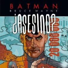 Cómics: BATMAN : BRUCE WAYNE ¿ASESINO? 3 - ECC / DC / TAPA DURA / NUEVO DE EDITORIAL. Lote 204437218