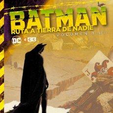 Cómics: BATMAN : RUTA A TIERRA DE NADIE 1 - ECC / DC / TAPA DURA. Lote 204458192