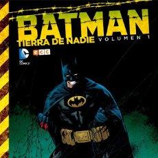 Cómics: BATMAN : TIERRA DE NADIE 1 - ECC / DC / TAPA DURA. Lote 204458651
