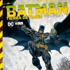 Cómics: BATMAN : TIERRA DE NADIE 2 - ECC / DC / TAPA DURA. Lote 204458877