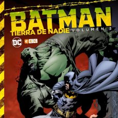 Cómics: BATMAN : TIERRA DE NADIE 3 - ECC / DC / TAPA DURA. Lote 204459492