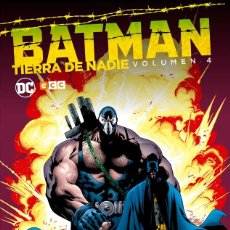 Cómics: BATMAN : TIERRA DE NADIE 4 - ECC / DC / TAPA DURA. Lote 204459672