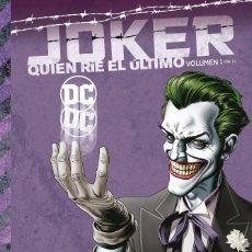 Cómics: JOKER : QUIEN RIE EL ULTIMO 1 - ECC / DC / TAPA DURA. Lote 204460538