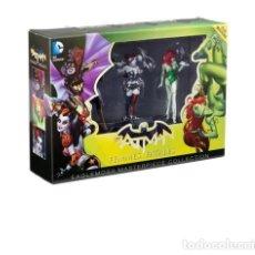 Cómics: BATMAN : AMOR LOCO Y OTRAS HISTORIAS - ECC / DC / CON FIGURAS HARLEY QUINN,POISON IVY Y BATGIRL. Lote 204461323