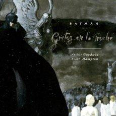 Cómics: BATMAN : GRITOS EN LA NOCHE - ECC / DC / TAPA DURA. Lote 204661518