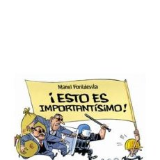 Cómics: ESTO ES IMPORTANTISIMO DE MANEL FONTDEVILA - ASTIBERRI / TAPA DURA. Lote 204682547