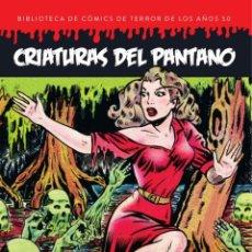 Cómics: CRIATURAS DEL PANTANO - DIABOLO / TAPA DURA / BIBLIOTECA DE COMICS DE TERROR DE LOS AÑOS 50 5. Lote 204683722