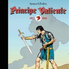 Cómics: PRINCIPE VALIENTE 1957-1958 - DOLMEN / TAPA DURA. Lote 204684985