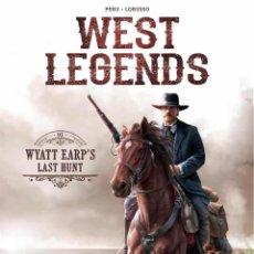 Cómics: WEST LEGENDS 01: WYATT EARP'S LAST HUNT - YERMO / TAPA DURA. Lote 204687967