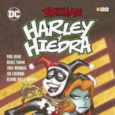 Cómics: BATMAN : HARLEY Y HIEDRA - ECC/ DC / TAPA DURA. Lote 204747791