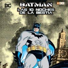 Cómics: BATMAN : LAS DIEZ NOCHES DE LA BESTIA - ECC / DC / TAPA DURA / JIM STARLIN & JIM APARO. Lote 204749220