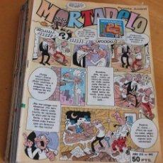 Comics: RESERVADO - MORTADELO REVISTA JUVENIL - GRAPA - LOTE DE 42 EJEMPLARES - BRUGUERA. Lote 204750888
