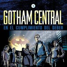 Cómics: GOTHAM CENTRAL 1 : EN EL CUMPLIMIENTO DEL DEBER - ECC / DC / TAPA DURA / BRUBAKER & RUCKA. Lote 204753780