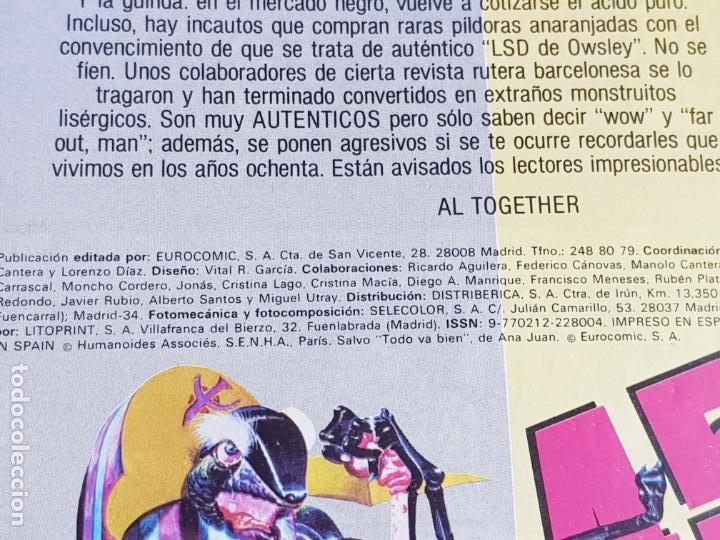 Cómics: lote 6 comics-metal hurlant-buen estado-ANTIGUAS-COLECCIONISTAS-RAROS+ESCASOS-ver fotos - Foto 10 - 204846082