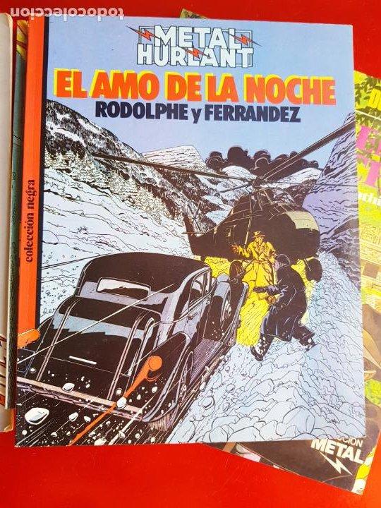 Cómics: lote 6 comics-metal hurlant-buen estado-ANTIGUAS-COLECCIONISTAS-RAROS+ESCASOS-ver fotos - Foto 12 - 204846082