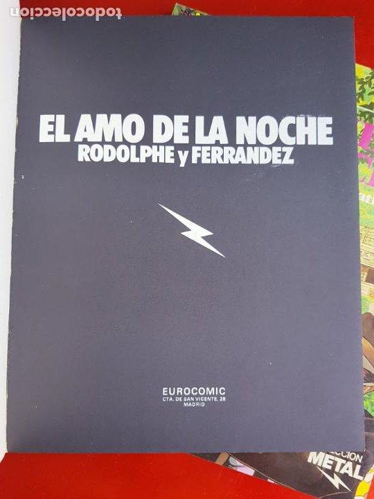 Cómics: lote 6 comics-metal hurlant-buen estado-ANTIGUAS-COLECCIONISTAS-RAROS+ESCASOS-ver fotos - Foto 13 - 204846082