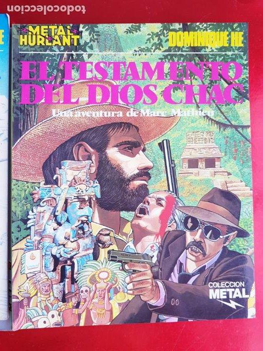 Cómics: lote 6 comics-metal hurlant-buen estado-ANTIGUAS-COLECCIONISTAS-RAROS+ESCASOS-ver fotos - Foto 16 - 204846082
