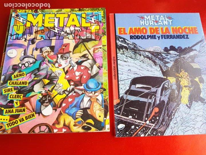 Cómics: lote 6 comics-metal hurlant-buen estado-ANTIGUAS-COLECCIONISTAS-RAROS+ESCASOS-ver fotos - Foto 20 - 204846082