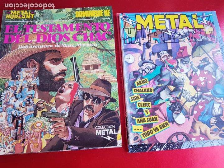 Cómics: lote 6 comics-metal hurlant-buen estado-ANTIGUAS-COLECCIONISTAS-RAROS+ESCASOS-ver fotos - Foto 21 - 204846082