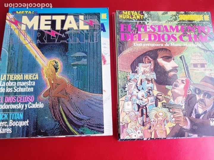 Cómics: lote 6 comics-metal hurlant-buen estado-ANTIGUAS-COLECCIONISTAS-RAROS+ESCASOS-ver fotos - Foto 22 - 204846082