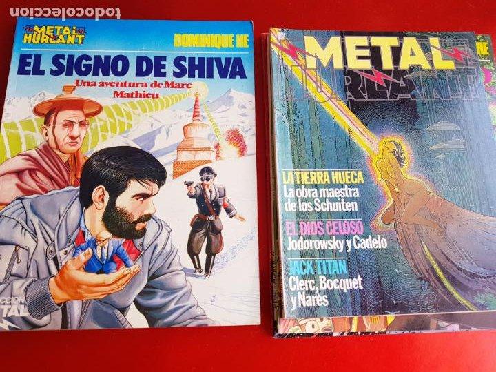 Cómics: lote 6 comics-metal hurlant-buen estado-ANTIGUAS-COLECCIONISTAS-RAROS+ESCASOS-ver fotos - Foto 23 - 204846082