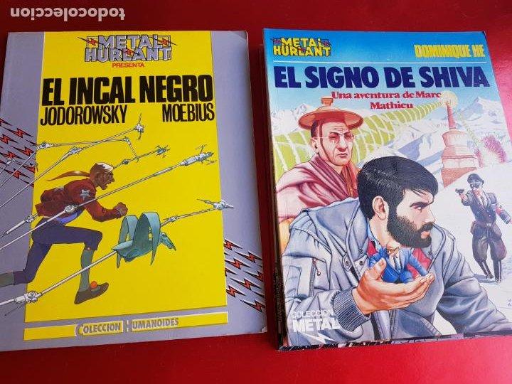 Cómics: lote 6 comics-metal hurlant-buen estado-ANTIGUAS-COLECCIONISTAS-RAROS+ESCASOS-ver fotos - Foto 24 - 204846082