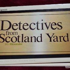 Cómics: CÓMIC DETECTIVES FROM SCOTLAND YARD. L.G. ALEXANDER. LONGMAN. 1980. Lote 204971886