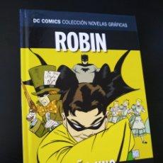 Cómics: DE KIOSCO ROBIN AÑO UNO VOLUMEN 23 NOVELAS GRAFICAS DC ECC. Lote 204980216