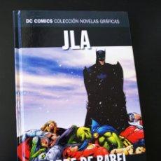 Cómics: EXCELENTE ESTADO JLA TORRE DE BABEL VOLUMEN 4 NOVELAS GRAFICAS DC ECC. Lote 204985587