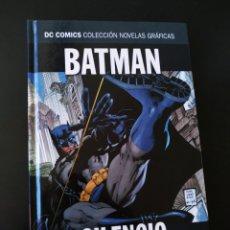 Cómics: EXCELENTE ESTADO BATMAN SILENCIO PARTE 1 VOLUMEN 1 NOVELAS GRAFICAS DC ECC. Lote 204987227