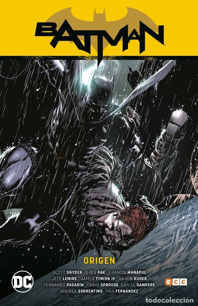 BATMAN SAGA : NUEVO UNIVERSO : ORIGEN - ECC / DC / TAPA DURA / SCOTT SNYDER (Tebeos y Comics - Comics otras Editoriales Actuales)