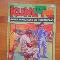 Cómics: KUNG-FU Nº 59 - ARTES MARCIALES EN HISTORIETAS - LEER DESCRIPCION (F1). Lote 205002561
