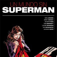 Fumetti: UN MUNDO SIN SUPERMAN - ECC / DC / TAPA DURA. Lote 205016742