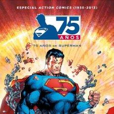 Cómics: ACTION COMICS : 75 AÑOS DE SUPERMAN - ECC / DC / TAPA DURA / NUEVO DE EDITORIAL. Lote 205028847