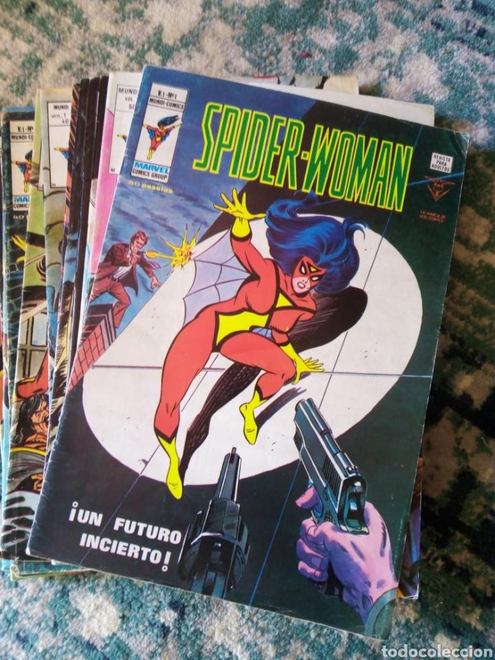 SPIDER WOMAN COLECCIÓN COMPLETA, 12 UDS. VÉRTICE (Tebeos y Comics Pendientes de Clasificar)