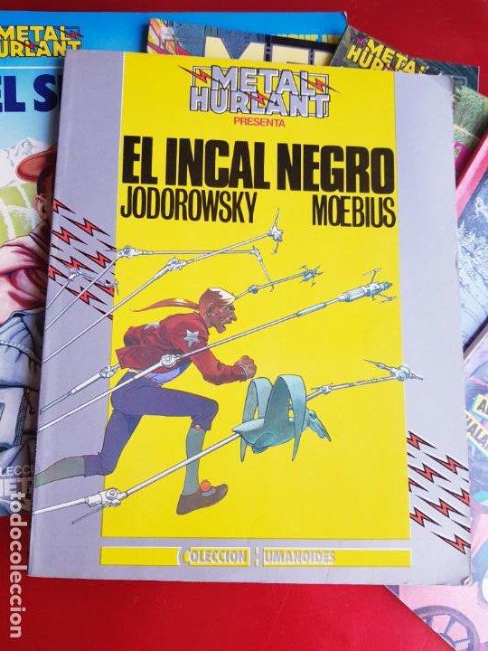 Cómics: lote 6 comics-metal hurlant-buen estado-ANTIGUAS-COLECCIONISTAS-RAROS+ESCASOS-ver fotos - Foto 25 - 204846082