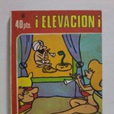 Cómics: TEBÉO ERÓTICO. ED. MARC BEN. ¡ ELEVACIÓN !. AÑOS 70.. Lote 205074766