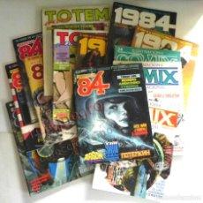 Cómics: LOTAZO GRAN LOTE DE COMICS ZONA 84 TOTEM EL COMIX INTERNACIONAL 1984 CÓMIC PARA ADULTOS JOYA FOSTER. Lote 205104512
